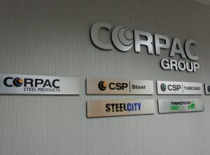 Corpac Wall Signs