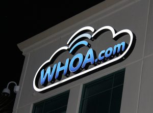 Whoa.com Lighted Lettering