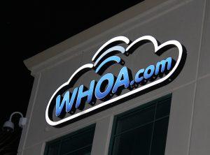 Whoa.com Lighted Lettering
