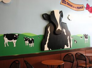 Ben & Jerry's Interior Wall