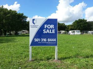 Current Capital For Sale Sign