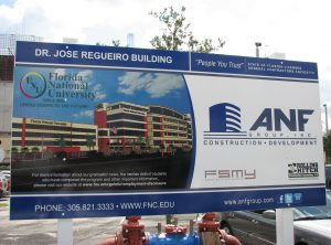 ANF Site Sign