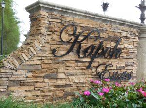 Kapok Monument Sign