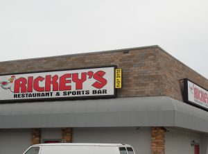Rickey's Box Sign