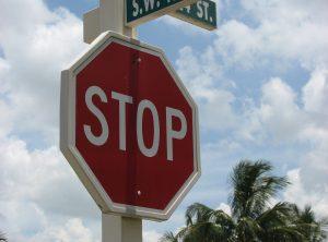 PVC Street Sign